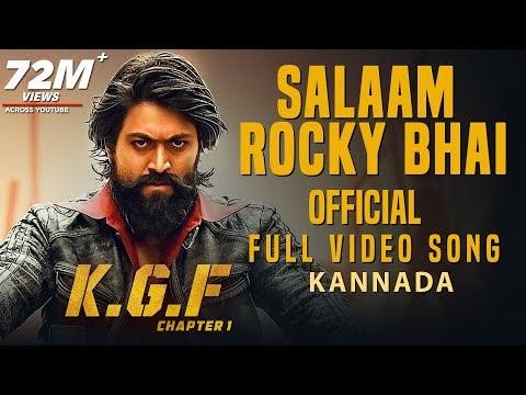 Salaam Rocky Bhai Kannada Song Download