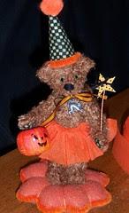 greta miniature halloween bear