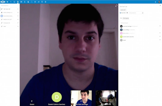 Nextcloud Talk is an Open Source Alternative to Google Hangouts - OMG! Ubuntu!
