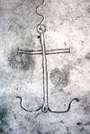 Croce ad ancora catacombeDomitilla.jpg