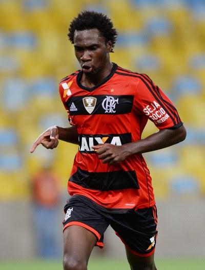 Negueba gol Flamengo x Madureira (Foto: Alexandre Vidal / Flaimagem)