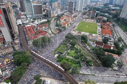 Anti-ICERD Rally - Turnout