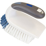 Lysol 2-in-1 Iron Handle Brush, White