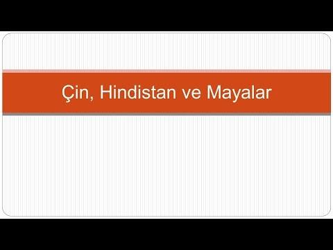 Çin, Hindistan ve Mayalarda Matematik - Matematik Tarihi