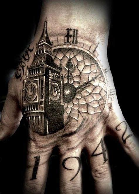 hand tattoos men