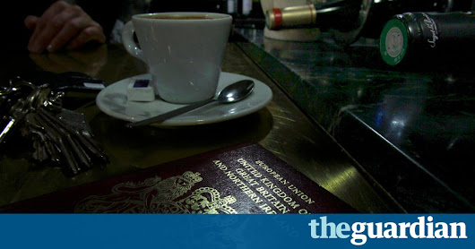 It feels like my British passport is now a badge of shame | Ed Vulliamy | Opinion | The Guardian