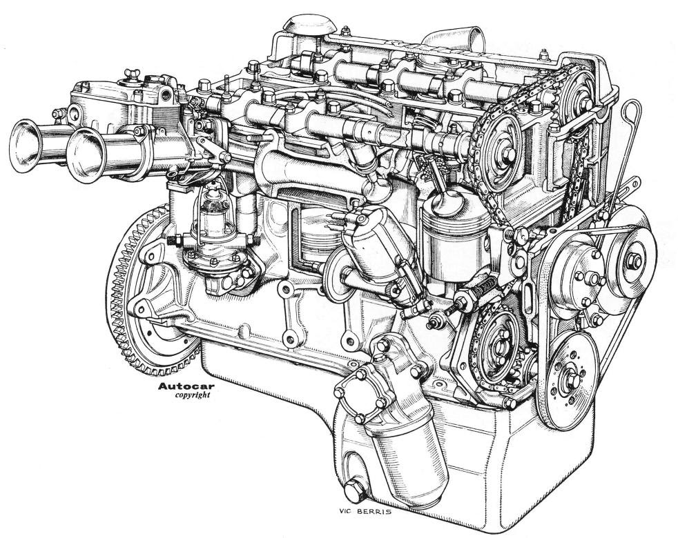 Ford Cortina Engine Diagram