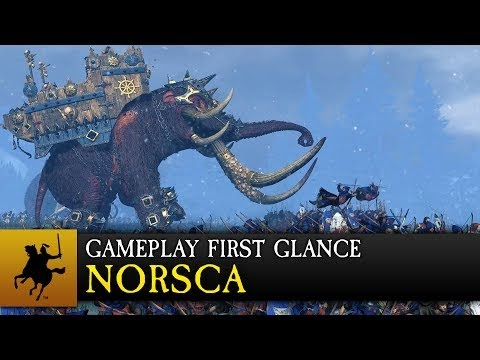 Total War Warhammer: Norsca Gameplay First Glance