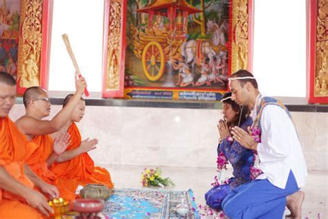 Buddhist Blessing Option 01 Wedding Package : Thailand