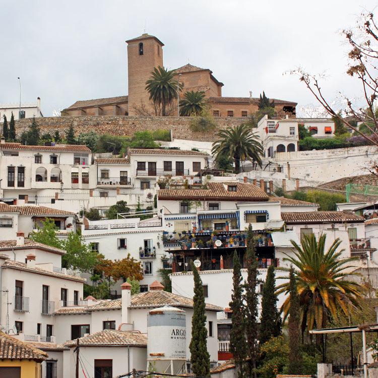 Iglesia de San Cristóbal y Albaicín, Granada