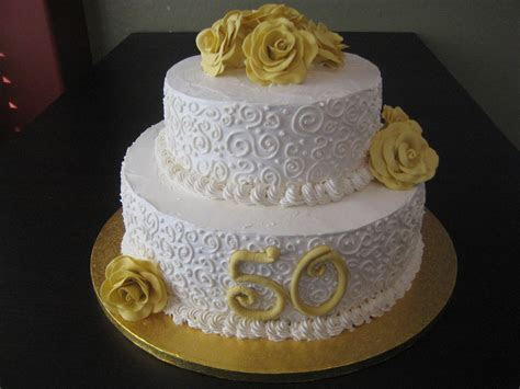 TheNaughtyTarteBaking: 50th Wedding Anniversary Cake