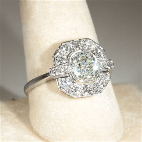 Vintage Art Deco Engagement Rings Uk   Engagement Ring USA