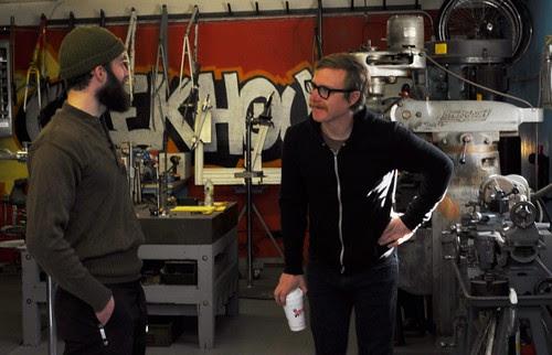 Brad and Marty, Geekhouse Bikes