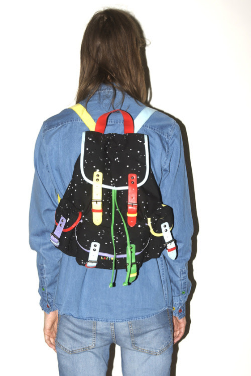Space Pack + Double Denim = win.