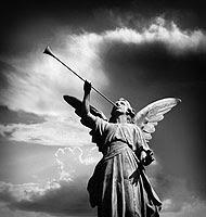 Angel Blows Trumpet