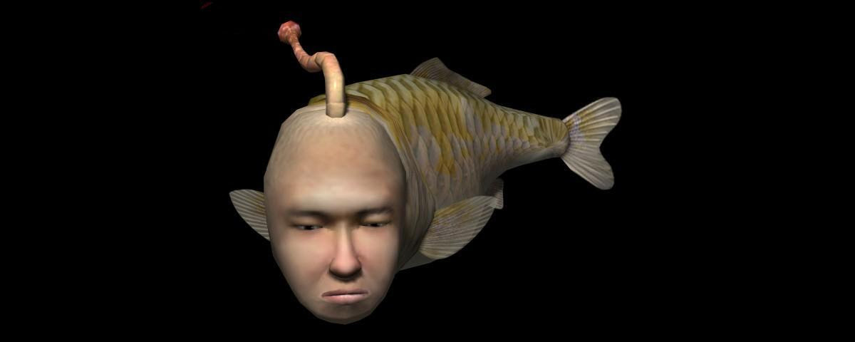 Yoot Saito is teasing a new Seaman project screenshot
