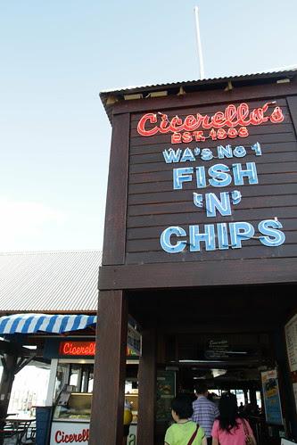 Cicerello's Fish & Chips restaurant