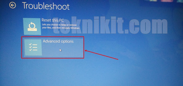 Cara Reset Windows 10 Dari Bios