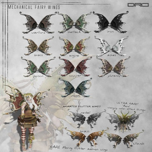 DRD -- fantasy gacha fairy wings