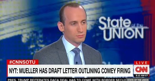 Lordy, There Was Tape Of Jake Tapper's Off-Camera Spat With Trump Toady Stephen Miller!