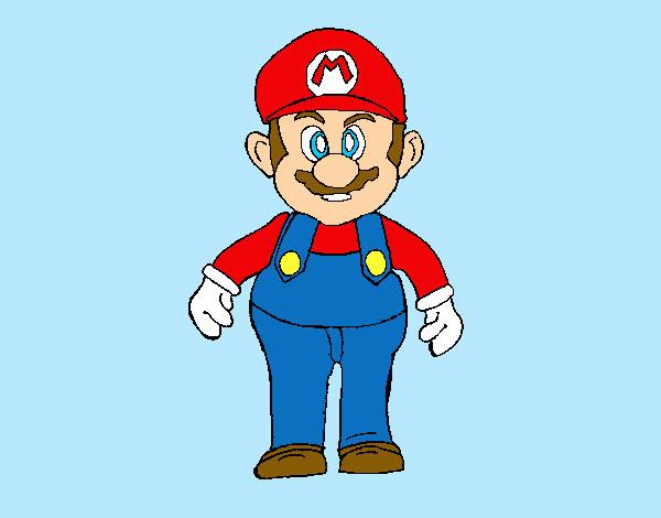 Dibujo De Super Mario Bros Pintado Por Myryan En Dibujos Net El Dia