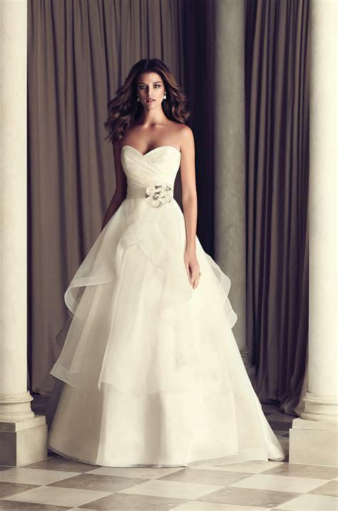 Tiered Skirt Wedding Dress   Style #4465   Paloma Blanca