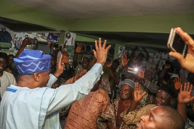 Saraki Meets PDP Delegates In Osun (Photos)