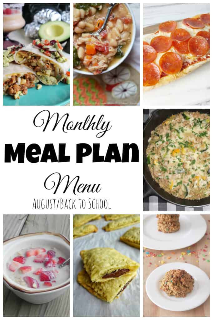 August Meal Plan-main