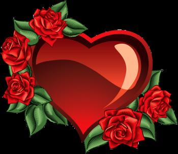 сердечко с розами