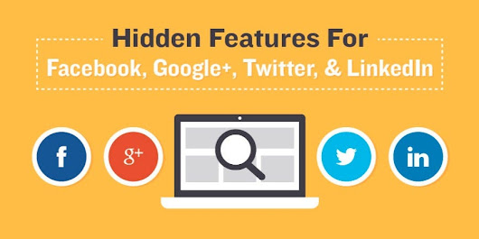 16 hidden social media features you probably didn't know about