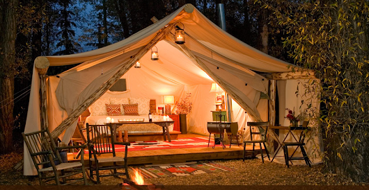 10 Must Visit Glamping Destinations - Just Short of Crazy