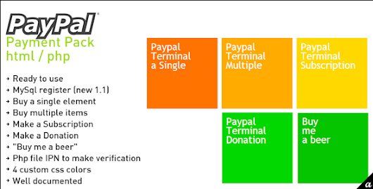 CodeCanyon – Paypal Payment Pack v.1.1 - Themeok India