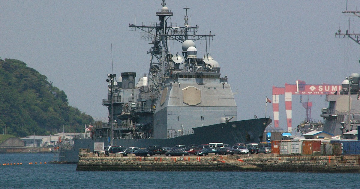 Uss Cowpens Collision Confrontation Between ...
