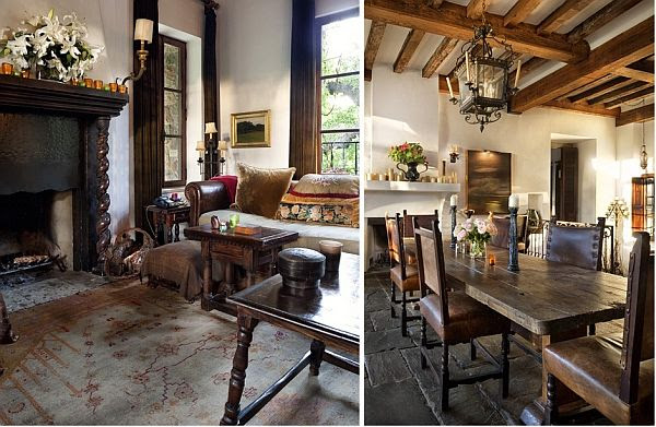 Contrastive house in Austin, Texas combining antique furniture and ...