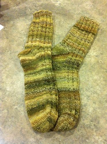 Handspun Swap Socks by Creations by Uli