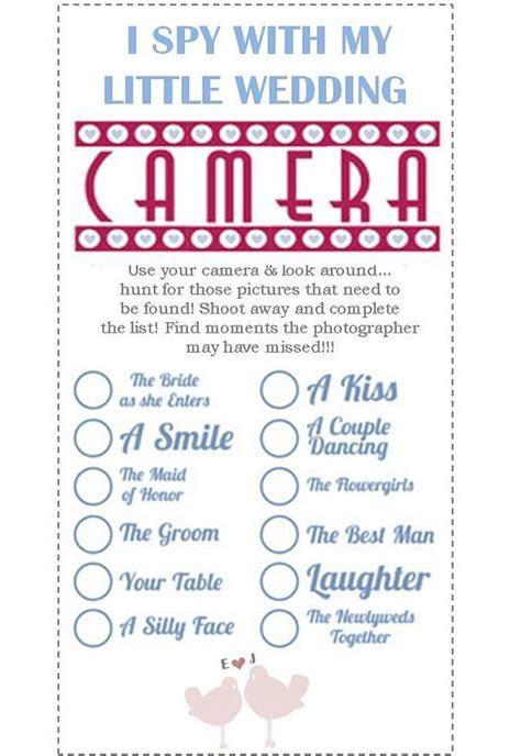 Printable I SPY Wedding Cards   DIY on Etsy, £3.99