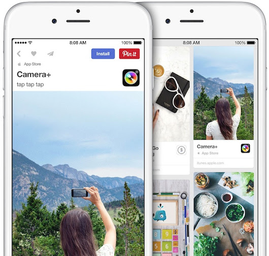 New 'App Pins' Allow Users to Install iOS Apps Right From Pinterest's App