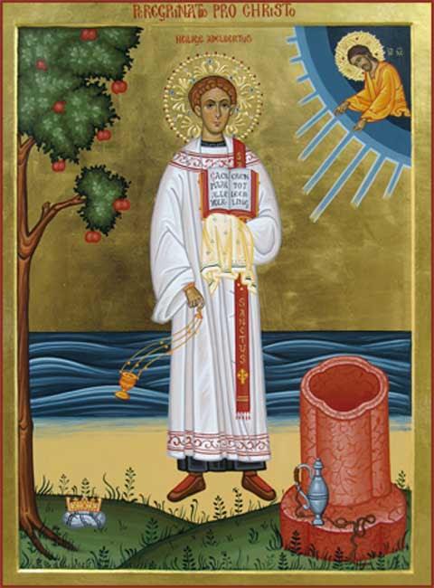 IMG ST. ADALBERT, Adelbertus,  Patron saint of Egmont in Holland