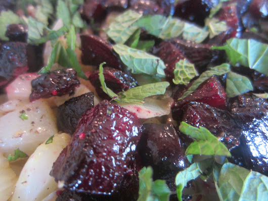 Roasted Beets and Fennel