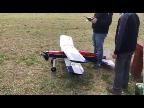 Biplano motorizzato Tartan Twin