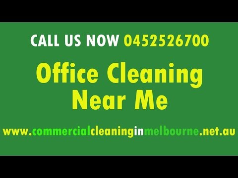 Office Cleaning Near Me