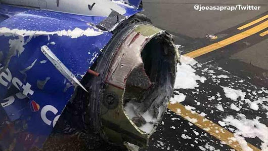 Southwest Airlines plane makes emergency landing in Philadelphia with engine, window damage |
