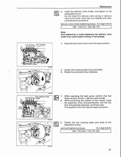 Case ISUZU 6SD1T Engine Service Repair Workshop Manual | A