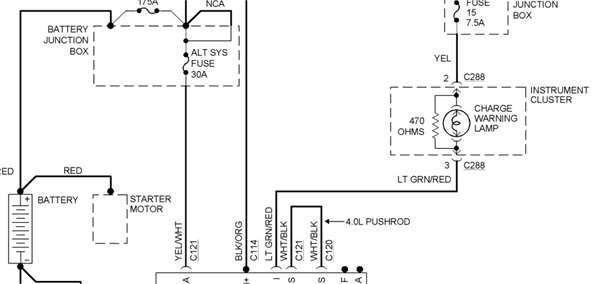 Autosportswiring: 86 Chevy Alternator Wiring Diagram