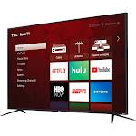 "TCL - 75"" Class - LED - 4 Series - 2160p - Smart - 4K UHD TV with HDR - Roku TV"