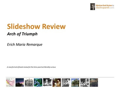 Slideshow Book Reviews - Silash Ruparell