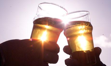 Cider glasses