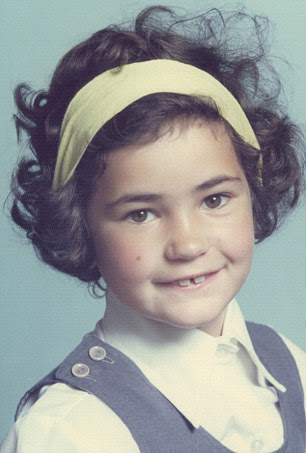 Dustbin Baby: Michelle's discovery (pictured aged five) sparked a media frenzy