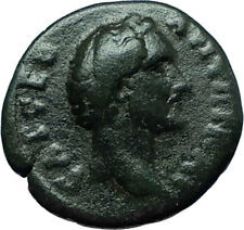ANTONINUS PIUS Nicomedia Bithynia Authentic Ancient Roman Coin DEMETER i66327