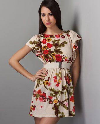 Lulu's Rosehip Tea Dress
